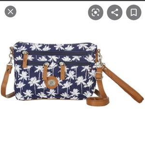 Stone Mountain quilted crossbody bag